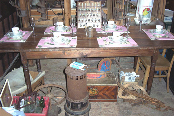 7ft Farm Table